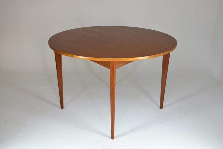 20th Century French Vintage Adjustable Dining Table, 1960s For Sale 3