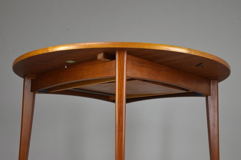 20th Century French Vintage Adjustable Dining Table, 1960s For Sale 4