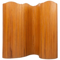 20th Century French Wood Room Divider