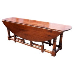 20th Century Fruitwood Wakes Table