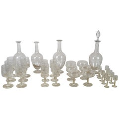 20th Century Full Service Baccarat Crystal