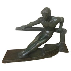 20th Century George Gori Art Deco Bronze Sculpture, 1930s