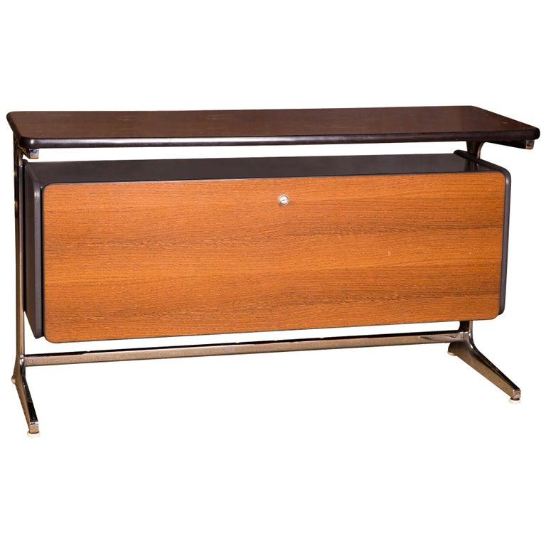 20th Century George Nelson Designer Desk Action Office Series for Herman Miller For Sale