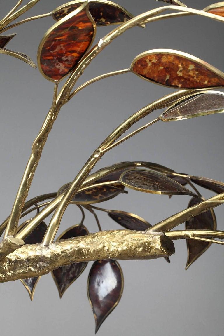 20th Century Gilt Bronze Tree Sculpture For Sale 5