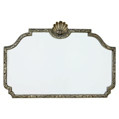 20th Century Gilt Carved Shaped Wall Mirror