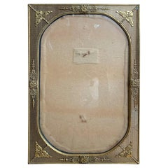 20th Century Gilt Metal Picture Frame