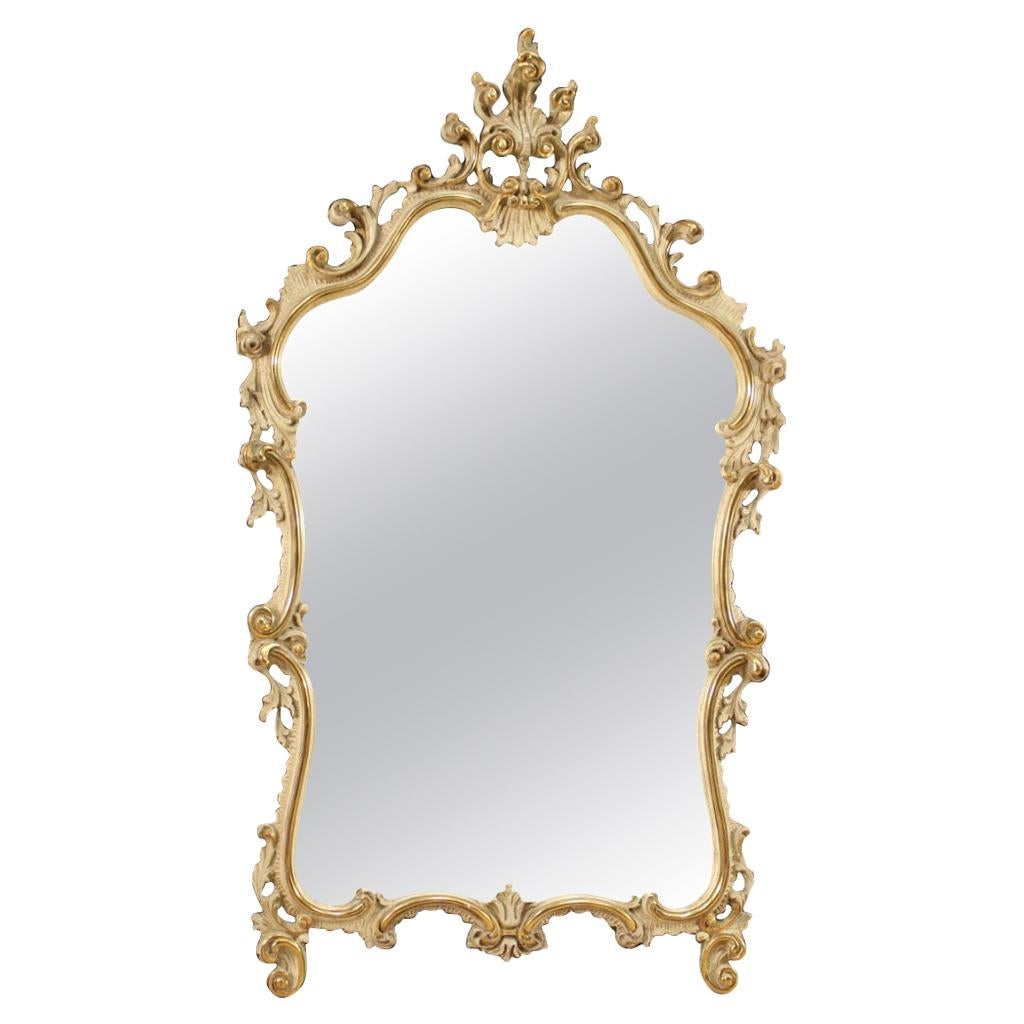 20th Century Giltwood and Plaster Venetian Mirror, 1960