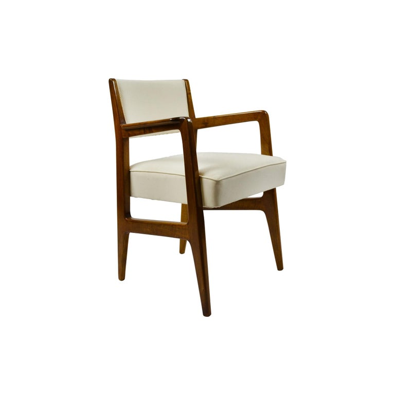 Mid-Century Modern 20th Century Gio Ponti Six Chairs Designed for Augustus Motorboat by Cassina For Sale