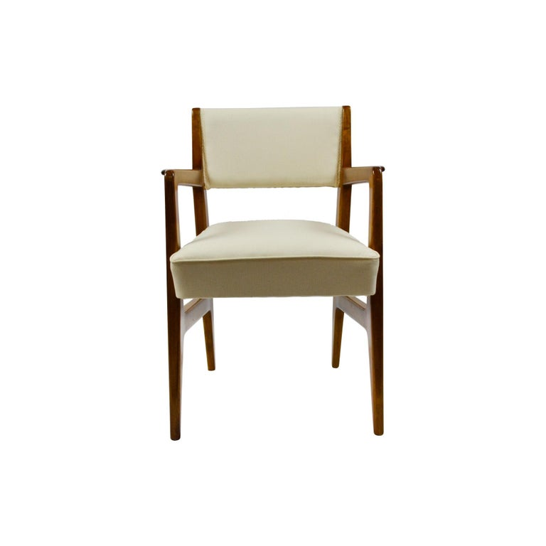 Italian 20th Century Gio Ponti Six Chairs Designed for Augustus Motorboat by Cassina For Sale