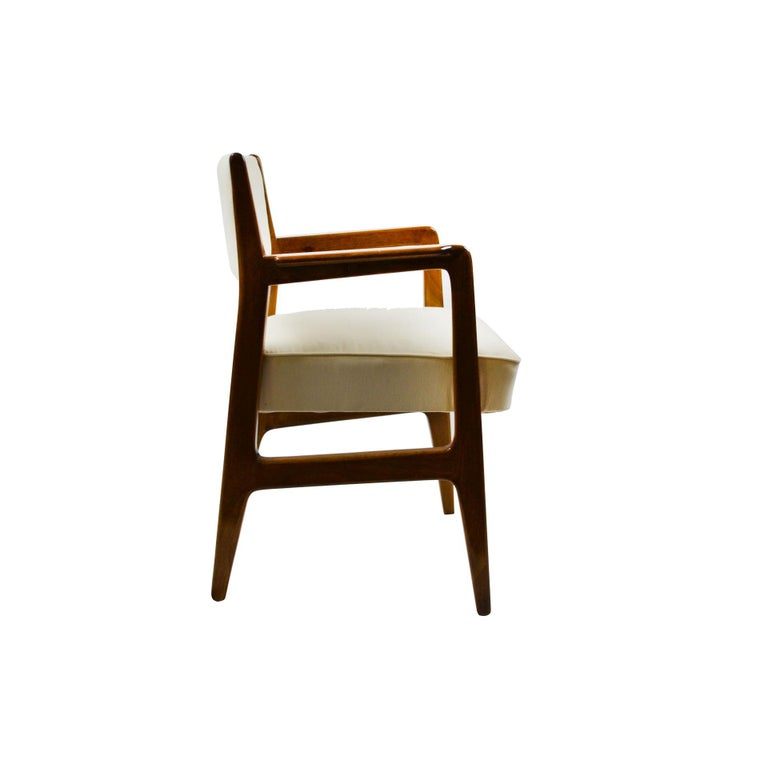 Mid-20th Century 20th Century Gio Ponti Six Chairs Designed for Augustus Motorboat by Cassina For Sale