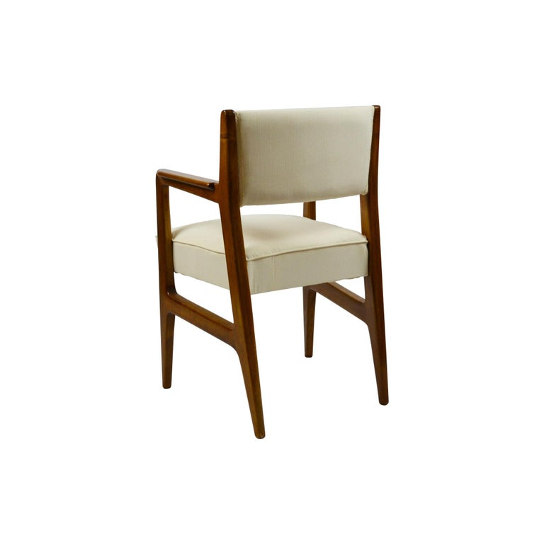 Fabric 20th Century Gio Ponti Six Chairs Designed for Augustus Motorboat by Cassina For Sale