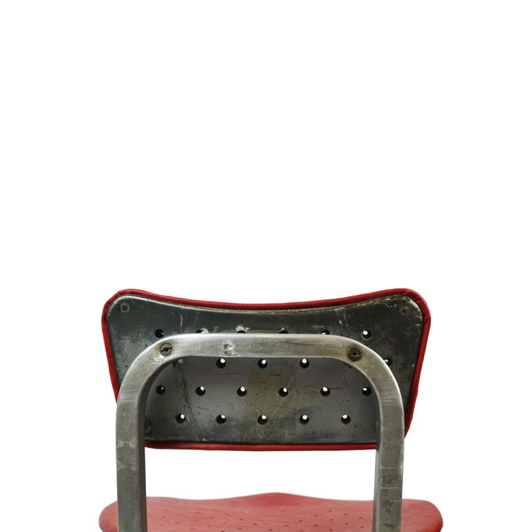 20th Century Gio Ponti Swivel Chair for Montecatini Office for Kardex For Sale 2