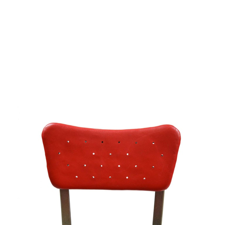 20th Century Gio Ponti Swivel Chair for Montecatini Office for Kardex For Sale 1
