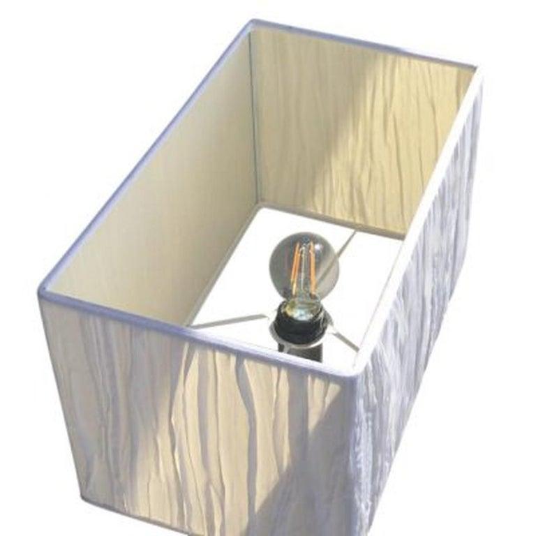 Stainless Steel 20th Century Golvlampa, Floor Lamp by Konsthantverk For Sale
