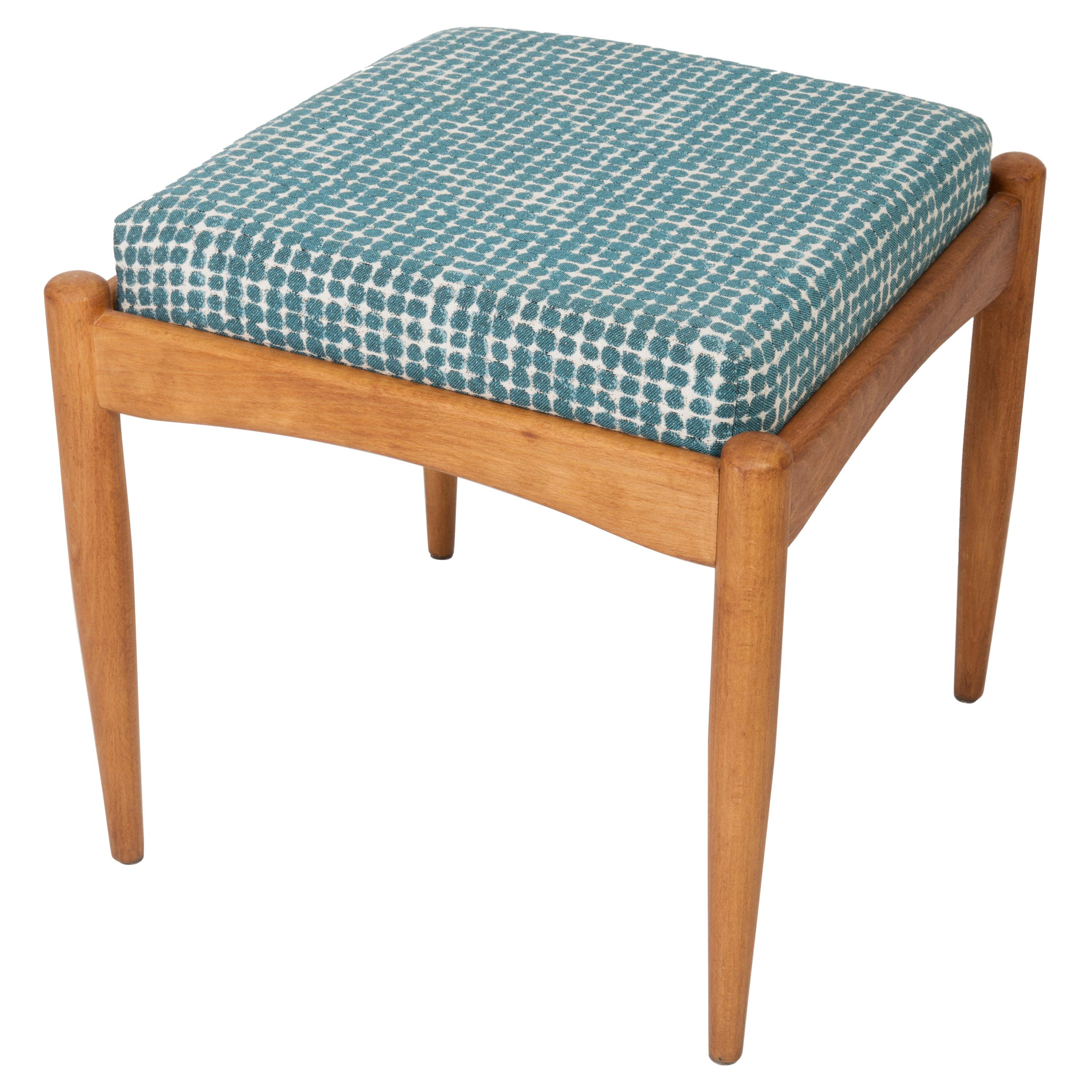 20th Century Green and White Stool, 1960s