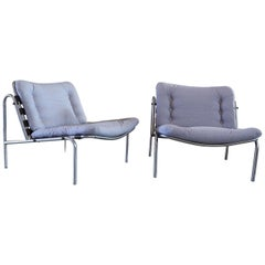 20th Century Grey Kyoto Armchairs by Martin Visser for 'T Spectrum, 1960s