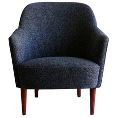20th Century Grey Samspel Easy Chair by Carl Malmsten