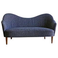 20th Century Grey Samspel Sofa by Carl Malmsten, Swedish Settee