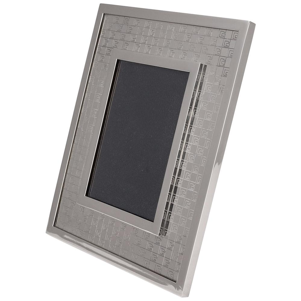 20th Century Gucci Silver Plated Picture Frame, c.1980