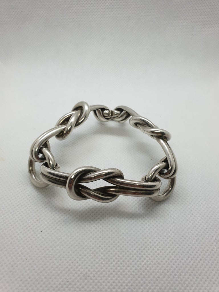 267d9e1aeabfb 20th Century Gucci Sterling Silver Vintage Bracelet Italy, 1960s
