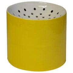 20th Century Ico & Luisa Parisi Yellow Ceramic for Zanolli & Sebellin