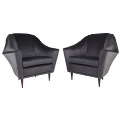 20th Century Ico Parisi Armchairs for Ariberto Colombo, Set of Two, 1950s