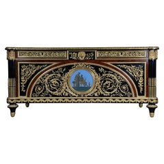 20th Century Imperial Bureau Plat / Writing Desk in the Style of Louis XVI