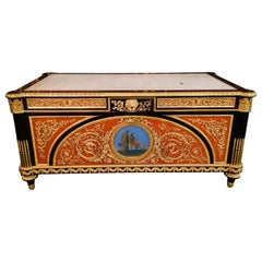 20th Century imperial Bureau Plat / Writing Table in the Style of Louis XVI