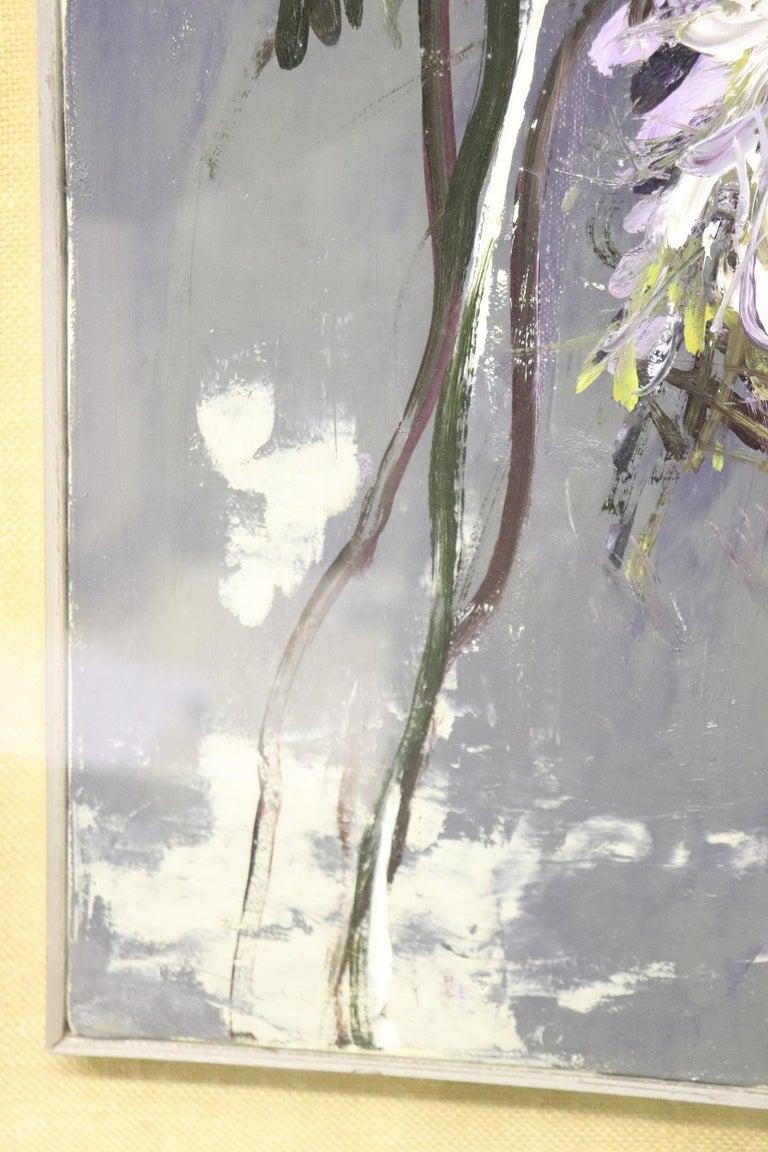20th Century Important Italian Artist Oil on Canvas by Giancarlo Cazzaniga For Sale 2