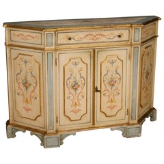 20th Century Painted and Gilded Wood Venetian Sideboard, 1970