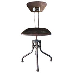 20th Century Industrial Chair Flambo