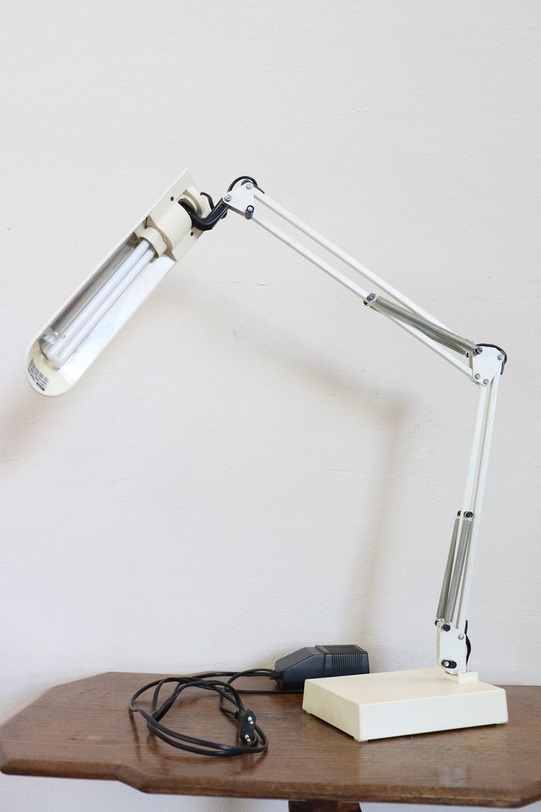 20th Century Industrial Design Adjustable Table Desk Lamp by Luxo, 1980s For Sale 1