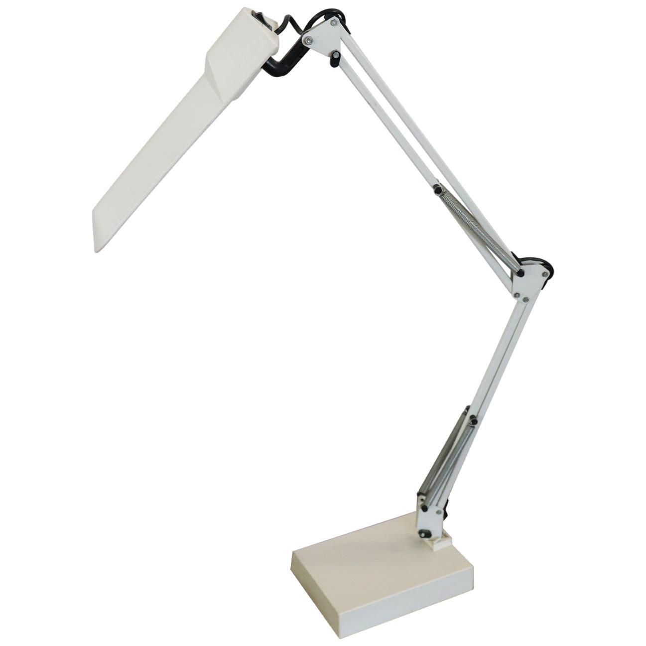 20th Century Industrial Design Adjustable Table Desk Lamp by Luxo, 1980s