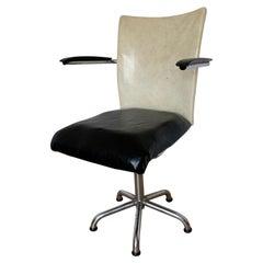20th Century Industrial Desk Chair from Gebroeders De Wit, Toon de Wit, 1960s