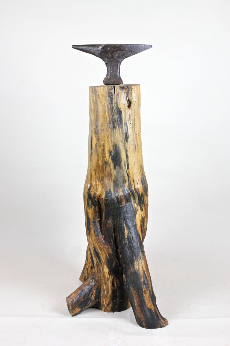 20th Century Industrial Modern Wooden Sculpture, Austria, circa 1915-1920 In Good Condition For Sale In Lichtenberg, AT