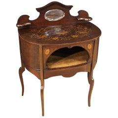 20th Century Inlaid Wood English Dressing Table, 1930