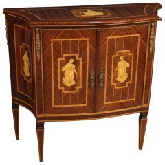 20th Century Inlaid Wood Italian Louis XVI Style Sideboard, 1960