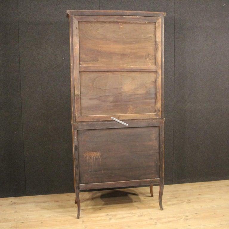 20th Century Inlaid Wood Italian Louis XVI Style Trumeau Desk, 1950 For Sale 8