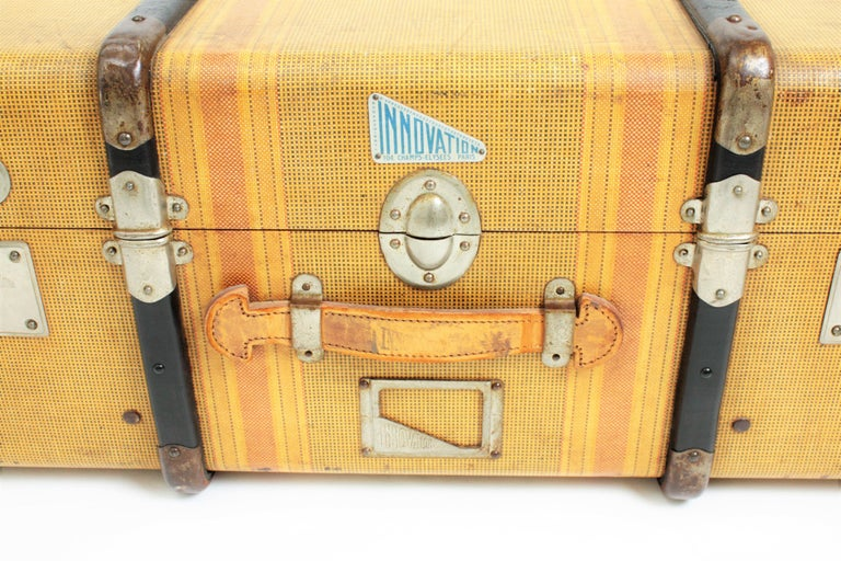 20th Century Innovation Cabin Travel Trunk, France, 1940s For Sale 2
