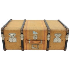 20th Century Innovation Cabin Travel Trunk, France, 1940s