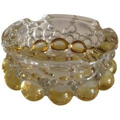 20th Century Italian Art Glass Ashtray Bowl