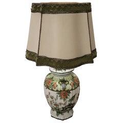 20th Century Italian Ceramic Table Lamp Signed Manufacture of Bassano