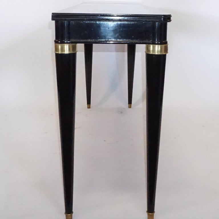 Mid-Century Modern 20th Century Italian Console Table By Paolo Buffa For Sale
