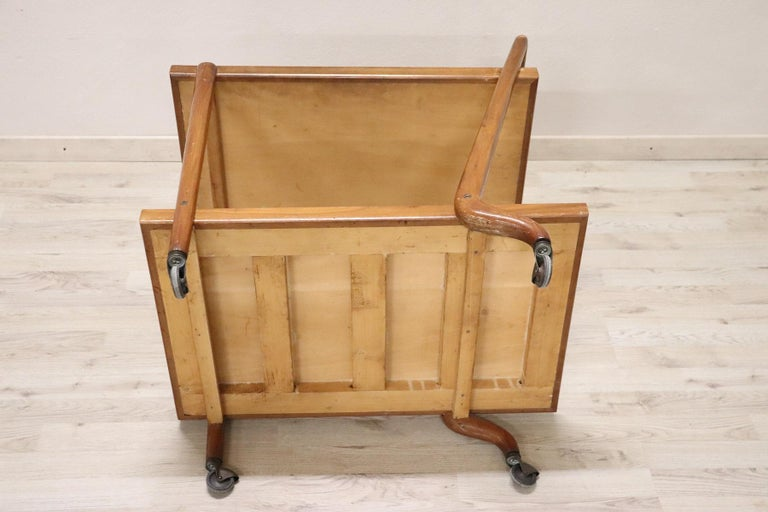 20th Century Italian Design Drinks Trolley or Bar Cart by Paolo Buffa, 1940s For Sale 6