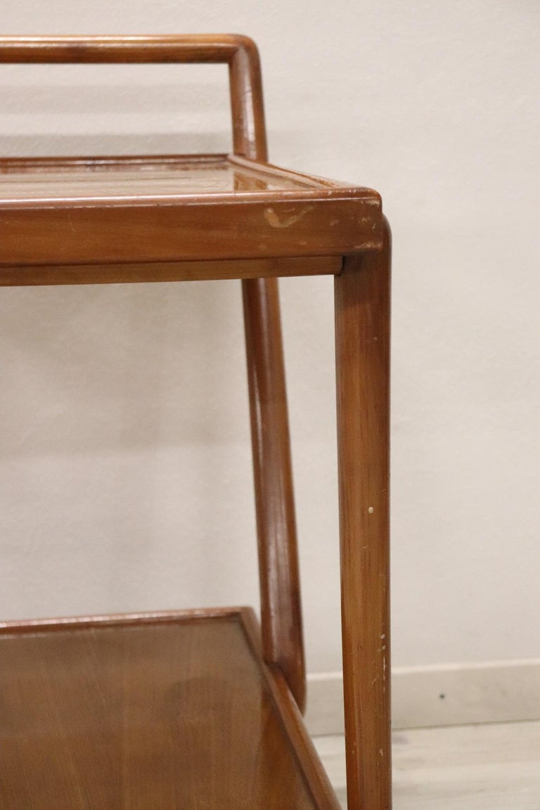 20th Century Italian Design Drinks Trolley or Bar Cart by Paolo Buffa, 1940s For Sale 3