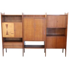20th Century Italian Design Large Bookcase or Cabinet, 1960s