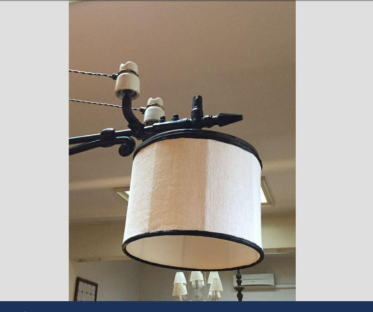 20 Porcelain Pendant Light Treasures: 20th Century Italian Double Light Chandelier With