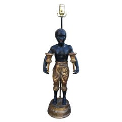 20th Century Italian Figure as Lamp