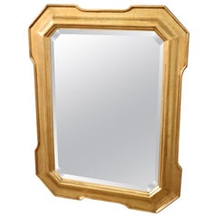 20th Century Italian Gilded Wall Mirror