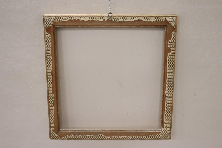 20th Century Italian Gilded Wood Frame For Sale 1
